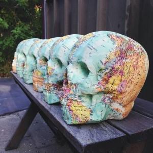 Atlas skull by Ninamarlena