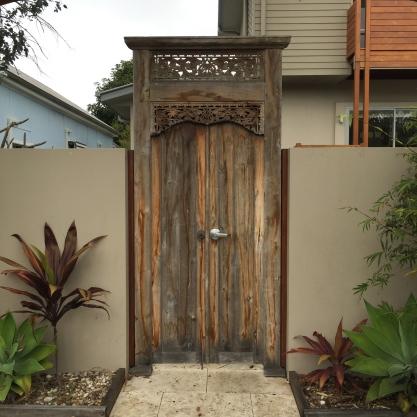 Beautiful door on Shirley St