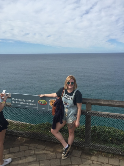 Most Easterly Point in Australia